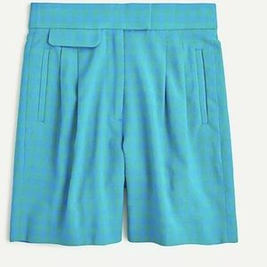 J Crew Pleated high-rise short  Size 6